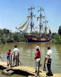 These rare color images show the Columbia during some of its earliest Disneyland sailings. tami@goseemickey.com