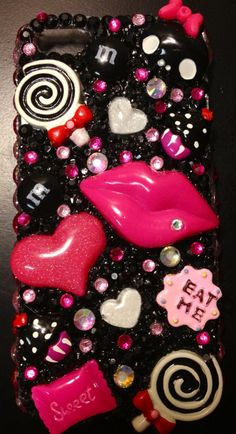 Rock+candy+iPhone+5+bling+case+by+GlamaliciousCases+on+Etsy,+$35.00