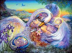 Ledia and the swan
