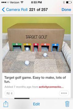 Box golf