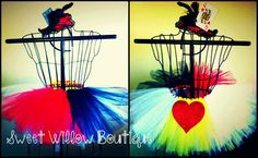Queen of Hearts Tutu Skirt by SweetWillowSWB on Etsy, $50.00