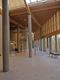 Glasgow's Burrell Collection where I first found Woody's obsession with a house where the trees are 'inside'