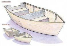 20 Budget-Friendly DIY Boat Plans for Loads of Water Fun - Wooden boat building - Make A Boat, Build Your Own Boat, Diy Boat, Plywood Boat Plans, Wooden Boat Plans, Wooden Boat Building, Boat Building Plans, Boat Kits, Boat Projects
