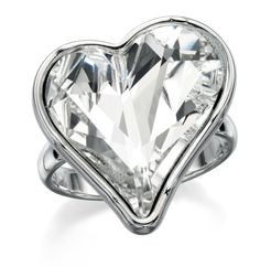 Paradisco - Zali Swarovski Elements Heart Ring