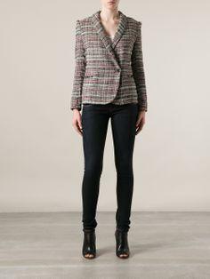 Isabel Marant 'gabe' Tweed Jacket - Eraldo - Farfetch.com