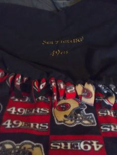 Personalised Blankets, San Francisco 49ers, Embroidered Blankets, Football Blanket, Perfect Fit, Great Gifts, Sweatshirts, Fitness, Sports