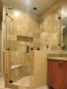 Neo Frameless Shower Enclosures. Located in Central Florida. For more info http://showerenclosuresorlando.com/neo.html