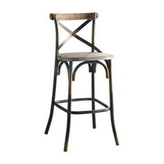 Shop for ACME Zaire Bar Chair in Antique Copper. Get free shipping at Overstock - Your Online Furniture Outlet Store! Get 5% in rewards with Club O! - 25244574