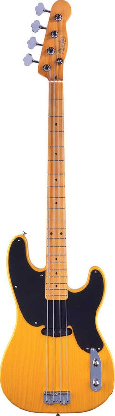 Fender Classic Reissue 51 Precision Electric Bass Guitar Butterscotch Blonde