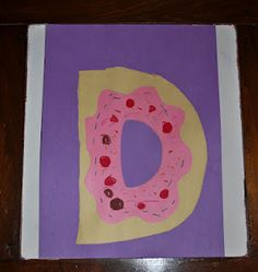 The Letter D for donut