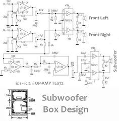 subwoofer amplifier 100w output with transistor in 2018 audio open circuit diagram power audio amplifier 2 1 (2 front 1 subwoofer)