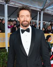 Hugh Jackman at The Academy Ball