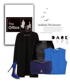 """""""Office"""" by anitahr on Polyvore featuring moda, Burberry, Magda Butrym, Alice + Olivia y Chanel"""