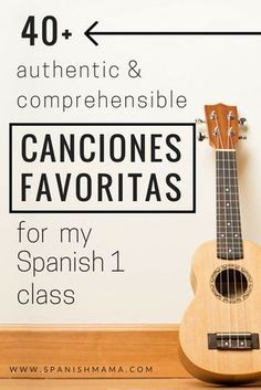 Songs for My Spanish I Class- a list of more than 40 authentic and comprehensible songs, perfect for beginning classes.Authentic Songs for My Spanish I Class- a list of more than 40 authentic and comprehensible songs, perfect for beginning classes. Spanish Teaching Resources, Spanish Activities, Spanish Language Learning, Vocabulary Activities, Listening Activities, Why Learn Spanish, Spanish 1, Learn French, Middle School Spanish