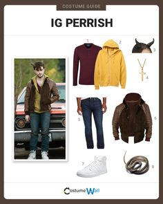 """Get the complete cosplay outfit of Ignatius """"Ig"""" Perrish, the main character played by Daniel Radcliffe from the movie Horns."""