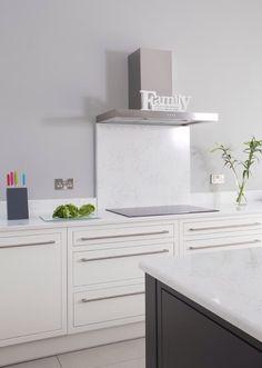 Quartz splash-back Splashback, New Homes, Quartz, Bathroom, Kitchens, House, Flat, Board, Image