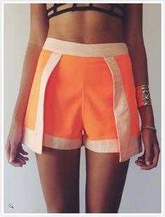Mura Bradshaw Shorts... cheap & Cheerful!