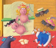 Lynne Chapman, Children's Book Illustrator