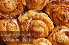 table for seven: {Semi Homemade} Caramel Rolls
