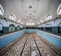 9 Haunting Photos of Abandoned Swimming Pools Across Europe - Urban Ghosts