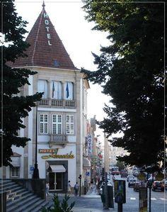 Viseu avenida #Hotel, the typical architecture of the interior of Portugal