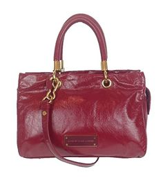 Marc by Marc Jacobs Too Hot to Handle Glazed Leather Satchel, Cabernet Red Marc by Marc Jacobs http://www.amazon.com/dp/B00TEH8UWK/ref=cm_sw_r_pi_dp_VQu2ub1KCD0F4