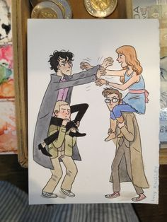 Wholock fight by lucy lou, via Flickr