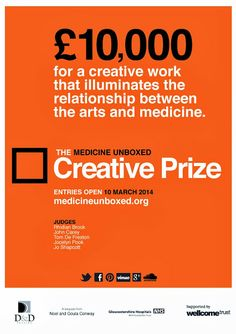 for a creative work that illuminates the relationship between the arts and medicine.