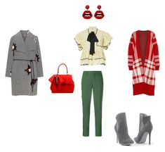"""""""Образ для консультанта"""" by gal-morozova on Polyvore featuring косметика, Zadig & Voltaire, MSGM, Open End, Venus, sweet deluxe и Mother of Pearl"""