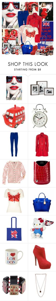 """Let's go to LONDON!"" by dani-elan ❤ liked on Polyvore featuring Nail Rock, Emma Watson, WALL, Newgate, Nobody Denim, Burberry, H&M, Aspinal of London, Juicy Couture and Reed Krakoff"