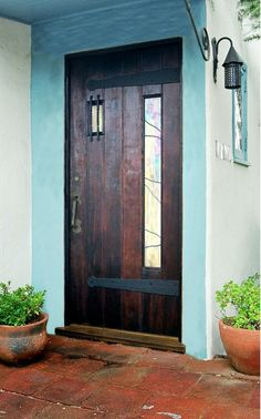love the new and old combined in this fantastic door
