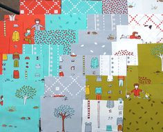 anxiously awaiting my jellyroll and charm packs ... *little apples* by Aneela Hoey for Moda