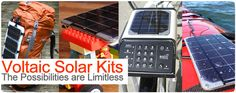 Los kit solares Voltaic Solar Kits, amplían las posibilidades de generación solar de manera ilimitada