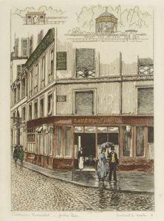 1877 - Tavernier Bonvalet - Jardin Turc | Boulevard du Temple