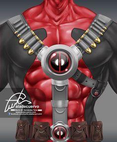 Deadpool torso / Martin Hernandez