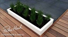 Platoflex rechthoekige plantenbak