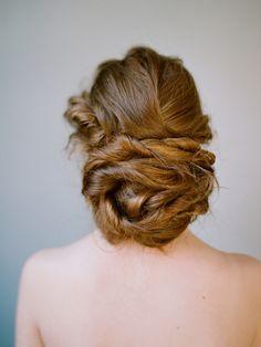 mariée, wedding, mariage, bride, hair, updo, chignon