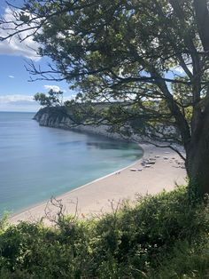 Beautiful walks along the South West coast path near Andrewshayes in Devon Uk Beaches, Fossil Hunting, South West Coast Path, Holiday Park, Fishing Villages, Small Boats, Fishing Boats, Beautiful Beaches, Devon