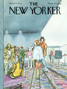 The New Yorker - Monday, November 24, 1975 - Issue # 2649 - Vol. 51 - N° 40 - Cover by : Charles Saxon