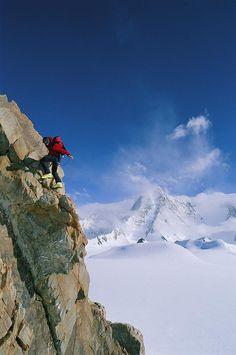 ✮ A climber
