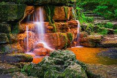 Yellow Springs in Glen Helen, Yellow Springs Ohio.