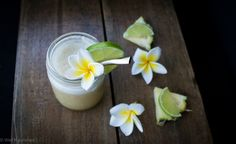 This Pine Lime splice is a delicious, healthy, dairy free drink. Using coconut water as a base, it is super refreshing and hydrating. Drink it as is or turn it into popsicles or even a cocktail.