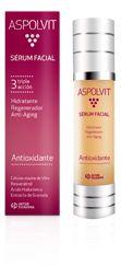 Serum Aspolvit con células madre de Vitis, Resveratrol, Ácido Hialurónico y extracto de Granada