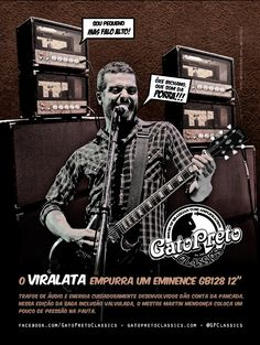 "Ad 3 - Guitar Player Magazine - May/13 Who: Martin Mendonça - Pitty, Agridoce - Campaign: ""Inclusão Valvulada"""