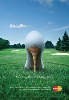 MasterCard Canada | Women's Golf Classic -- now that is what I call ADVERTISEMENT!