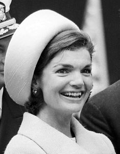 Jackie Kennedy christens the USS Lafayette in Groton, Connecticut on April 23, 1962.