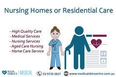 Nursing Home or Residential Care Services in Lilydale, Melbourne  For more details, please call us at - 9739 3837 or Visit- www.medicalskincentre.com.au  #NursingHome #medical #health #personaldoctor #doctor #healthcare #familydoctor #MainStreetMedical