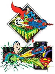 Last Son of Krypton by Jose Luis Garcia-Lopez from the 1982 DC Comics Style Guide