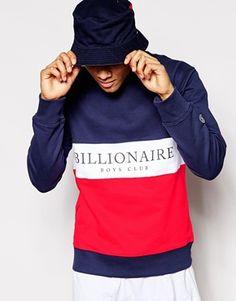 Billionaire Boys Club Sweatshirt In Cut & Sew