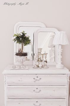 Bedroom dresser top french country rustic swedish decor Idea. ***Pinned by oldattic ***.